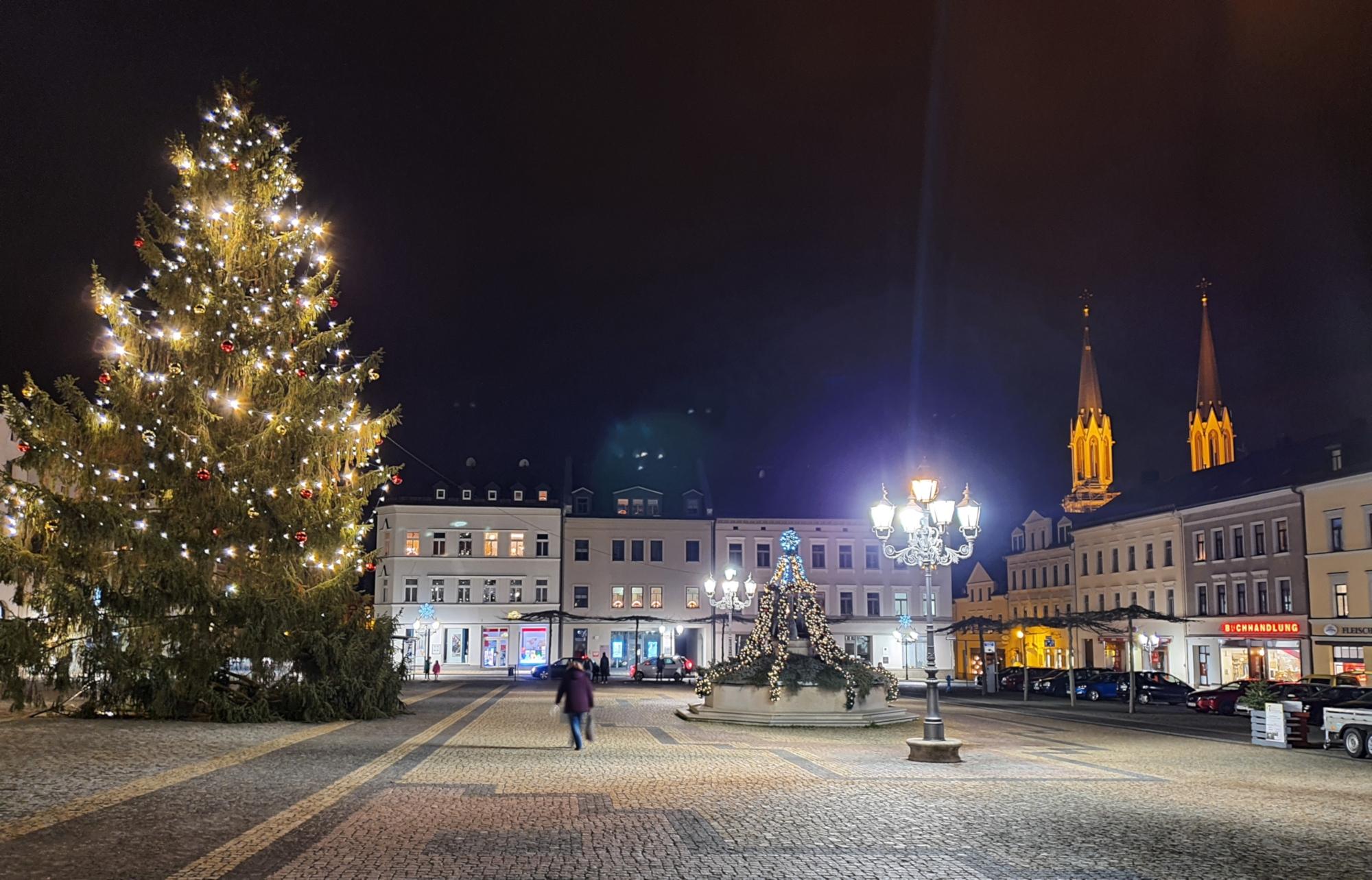 """""""Oelsnitz Weihnachtsmarkt 2020 ©vogtland360"""""""